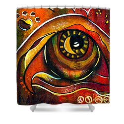Elementals Spirit Eye Shower Curtain