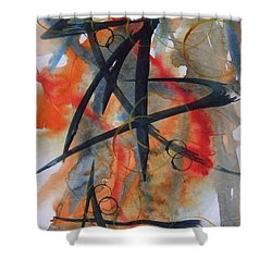 Elements Of Design Shower Curtain