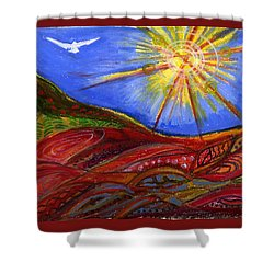 Elements Of Earth Shower Curtain