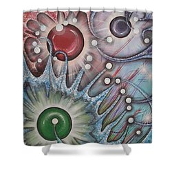 Eleventh Dimension Shower Curtain
