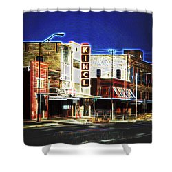 Elgin Old Town Street Shower Curtain