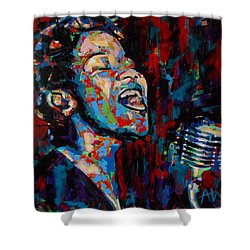 Ella Fitzgerald Shower Curtain