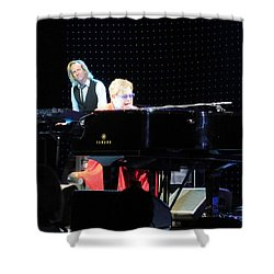 Elton Being Elton Shower Curtain by Aaron Martens