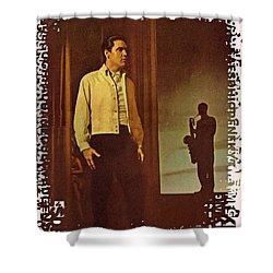 Elvis Aaron Presley Shower Curtain by Movie Poster Prints