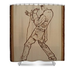 Elvis Presley - If I Can Dream Shower Curtain