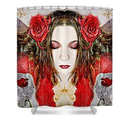 Shower Curtain featuring the photograph Embrace Me by Heather King