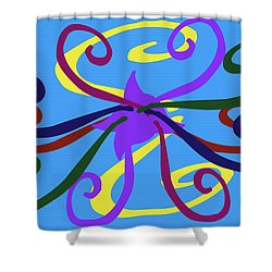 Shower Curtain featuring the photograph Embrace by Tina M Wenger