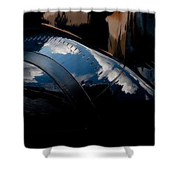 Embraer Reflection II Shower Curtain by Paul Job