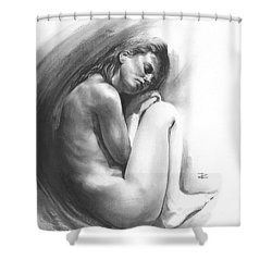 Embryonic 1 Shower Curtain