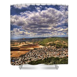 Emek Israel Shower Curtain