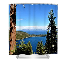 Emerald Bay Shower Curtain