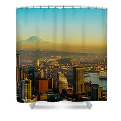 Emerald City Shining Bright Shower Curtain
