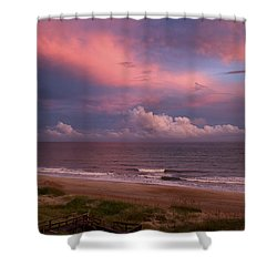 Emerald Isle Sunset Shower Curtain