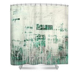 Emerald Surge C2014 Shower Curtain