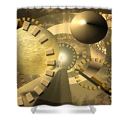 Emergence Shower Curtain