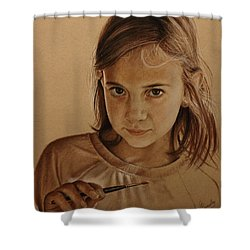 Emerging Young Artist Shower Curtain