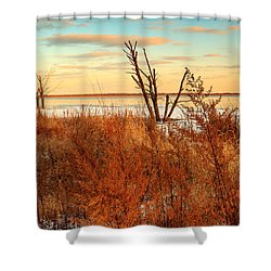 Emiquon Shower Curtain