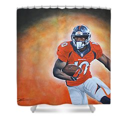 Emmanuel Sanders Shower Curtain