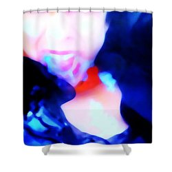 Emotional Wipe Out Shower Curtain by Jessica Shelton