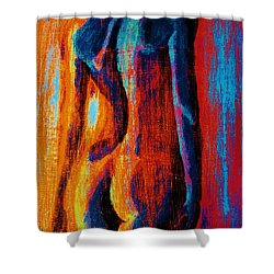 Emotive Shower Curtain by Michael Cross