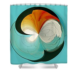 Shower Curtain featuring the photograph Emp Inspired by Sonya Lang