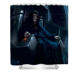 Emperor Palpatine Shower Curtain