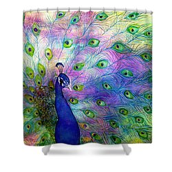 Emperor Peacock Shower Curtain