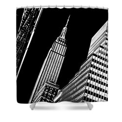 Empire Perspective Shower Curtain