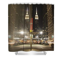Empire Reflections Shower Curtain