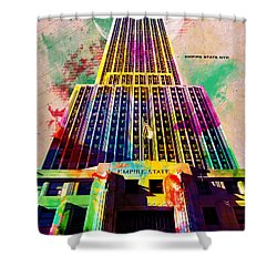 Empire State Shower Curtain by Gary Grayson