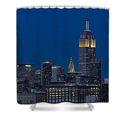 Empire State Shower Curtain by Susan Candelario
