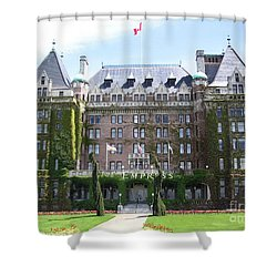Empressed By Royalty Shower Curtain