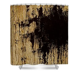 Emptiness Shower Curtain by Marlon Huynh