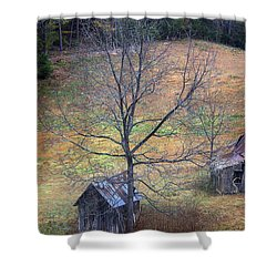 Shower Curtain featuring the photograph Empty Nest by Faith Williams