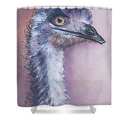 Emu By Jan Matson Shower Curtain by Jan Matson