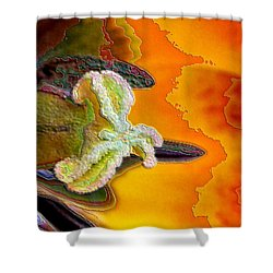 Enamel Tulip Shower Curtain