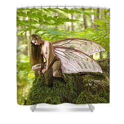 Enchanted Fairy Shower Curtain by Tbone Oliver