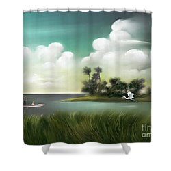 Enchanted Florida Shower Curtain