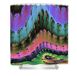 Enchanted Forests Of A New World Shower Curtain by Angela A Stanton