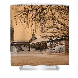 Enchanted Old Town Shower Curtain by Davorin Mance