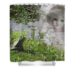 Enchanted Prince Fairy Tale Shower Curtain