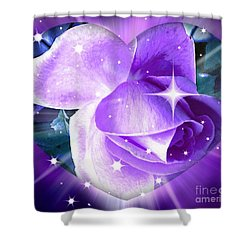 Enchanted Rose Shower Curtain