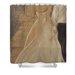 Enchanted Wedding Night Shower Curtain