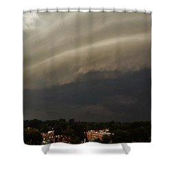 Encroaching Shelf Cloud Shower Curtain by Ed Sweeney