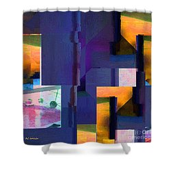 Encroachment Shower Curtain by RC DeWinter