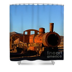 End Of An Era Shower Curtain by James Brunker
