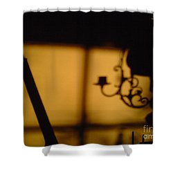 Shower Curtain featuring the photograph End Of The Day by Martin Howard