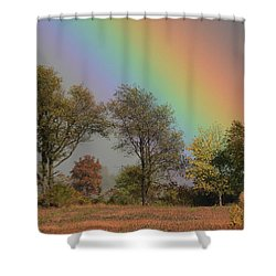 End Of The Rainbow Shower Curtain
