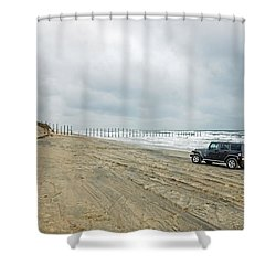 End Of The Road Shower Curtain
