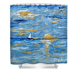 End Of The Storm Shower Curtain